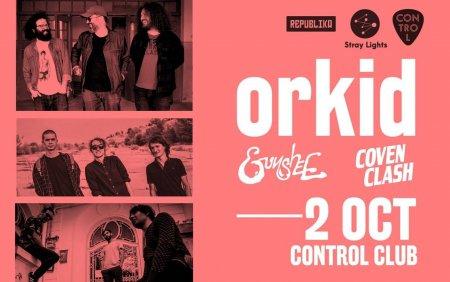 Trupa ORKID isi lanseaza intr-un concert primul <span style='background:#EDF514'>SINGLE</span> de pe viitorul album. Gunshee si Coven Clash, in deschidere
