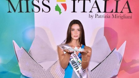 O romanca de 19 ani impresioneaza in strainatate. S-a calificat in finala nationala a concursului Miss Italia