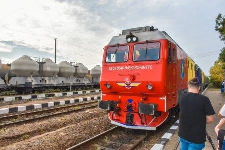 Trenul Connecting Europe Express a ajuns vineri la Giurgiu