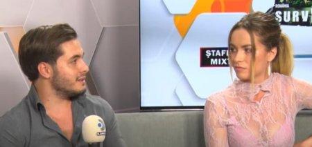 Albert Oprea si Maria Chitu de la Survivor Romania s-au certat in direct la TV.  Mie mi se pare ca lungim povestea foarte tare