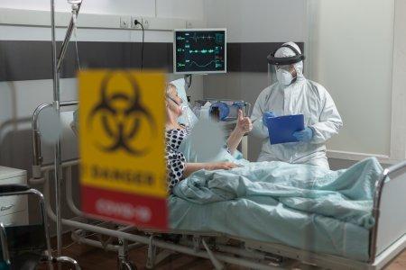 Alerta la un spital din Romania! Este aproape plin cu pacienti COVID. Acestia nu sunt vaccinati