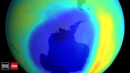 Riscurile pentru viata pe Pamant, dupa ce gaura din stratul de ozon a depasit suprafata Antarcticii
