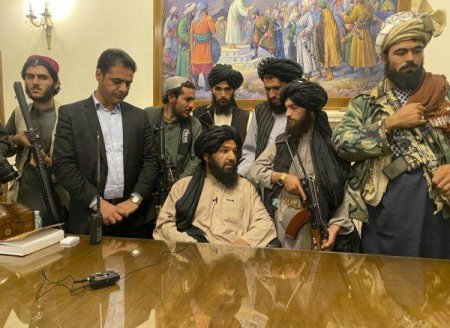 Talibanii inlocuiesc <span style='background:#EDF514'>MINISTERUL</span> Femeilor cu <span style='background:#EDF514'>MINISTERUL</span> Promovarii Virturtii si Preventiei Viciului