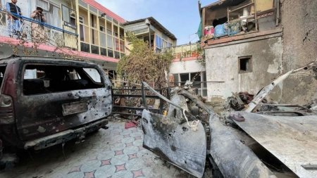SUA recunosc oficial ca au ucis cel putin 10 civili nevinovati, inclusiv 7 copii, la Kabul, in atacul care viza o tinta ISIS