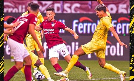 Liga 1: Rapid - Gaz Metan 1-2. Antrenorul Ilie Poenaru a debutat pe banca tehnica a ardelenilor (Video)