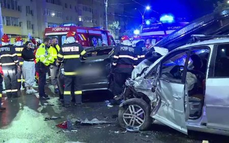 Accident grav in Capitala. Patru persoane au fost ranite din cauza neacordarii de prioritate