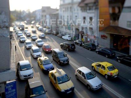 Numeroase restrictii de trafic sunt in vigoare in weekend in Bucuresti. Ce evenimente se vor desfasura