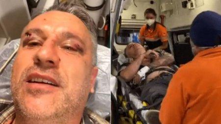 Patru barbati retinuti, dupa ce un activist si un jurnalist au fost batuti cu bestialitate de 20 de persoane, <span style='background:#EDF514'>IN SUCEAVA</span>