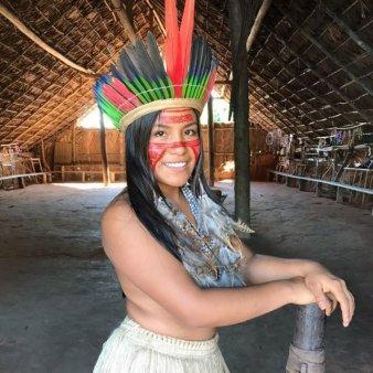 VIDEO Maira Gomez Godinho, TikTok-erita din Amazon care incanta milioane de fani