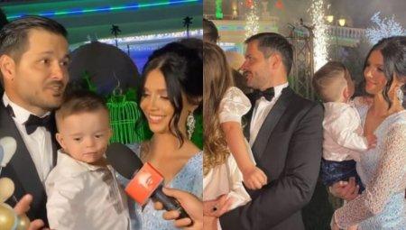 Imagini de la petrecerea de botez a fiului lui Liviu Varciu. Prezentatorul si-a rasfatat invitatii