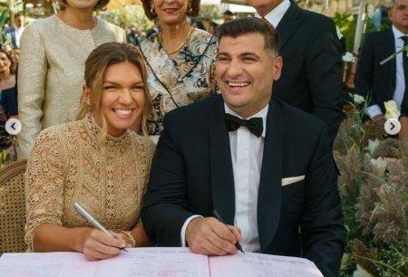 Toni Iuruc, cadou special pentru Simona Halep dupa nunta.