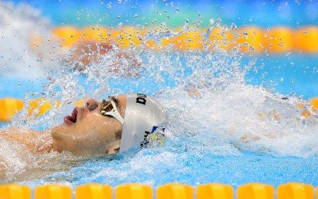 <span style='background:#EDF514'>INOT</span>: Sportivul Robert Glinta a stabilit un record national la 50 de metri spate