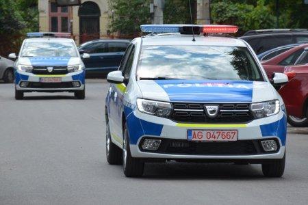 Buzau: Autospeciala a Politiei, implicata intr-un eveniment rutier pe E85, la iesirea din Ramnicu Sarat