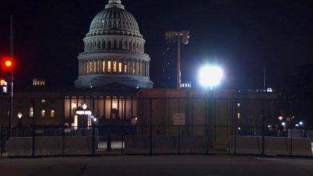 Politia din Washington, in alerta inaintea mitingului organizat de un fost director al lui Donald Trump in sprijinul insurgentilor de la Capitoliu