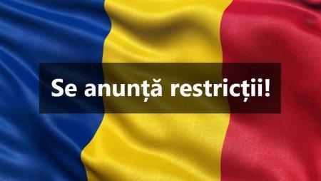 Restrictii fulger de luni! COD ROȘU de COVID! Primul judet din Romania intra in scenariul rosu
