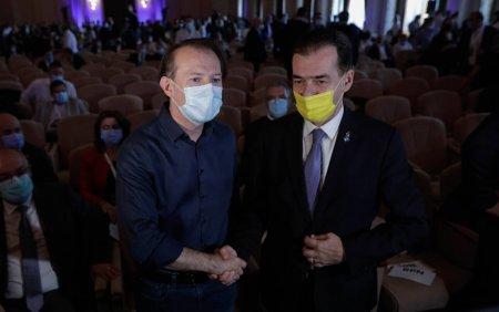 Rivalii Orban si Citu si-au strans mainile in fata presei. Gorghiu: Mai stati o tura