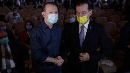 Florin Citu si Ludovic Orban, umar la umar cu o saptamana inainte de congres