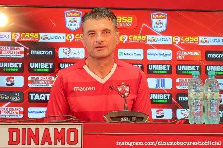 Noul antrenor al lui Dinamo, in fata primului meci ca principal: Nu vreau sa par infatuat, dar nu exista alta varianta