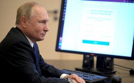 Alegeri legislative in Rusia: Cum si-a exprimat votul presedintele Vladimir Putin