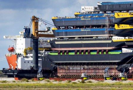 Peste patru tone de cocaina, descoperite la Rotterdam. Este una dintre cele mai mari capturi facute in portul olandez