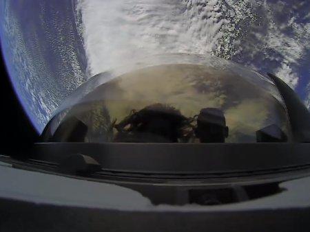 VIDEO Space X se intoarce pe Pamant sambata noaptea. Ce imagini a surprins in spatiu Capsula Dragonului