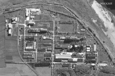 Coreea de Nord isi extinde bazele nucleare. Fotografiile prin satelit au surprins cum nord-coreenii imbogatesc in secret uraniul
