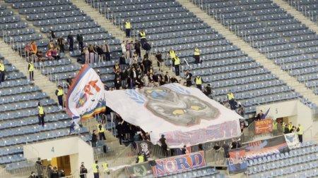 FCU Craiova - FCSB. Cum a aratat scenografia oaspetilor la partida din Banie