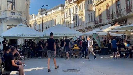 FCU Craiova - FCSB. Oltenii au cantat <span style='background:#EDF514'>IMNUL</span> in oras, inainte de meci