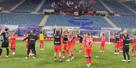 FCU Craiova - FCSB 0-1. Claudiu Keseru, declaratii dupa victoria din Banie
