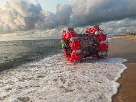 Interventie salvatoare in Marea Neagra. Garda de Coasta a readus la mal sapte turisti luati de vant