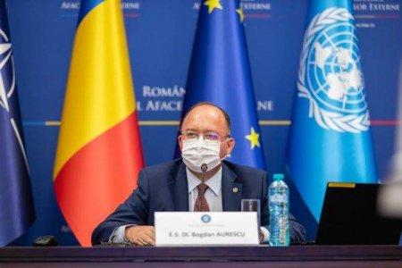 Bogdan Aurescu va participa la a 76-a sesiune a Adunarii Generale a ONU