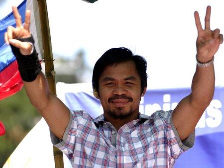 Boxerul Manny Pacquiao va candida la functia de presedinte al Filipinelor