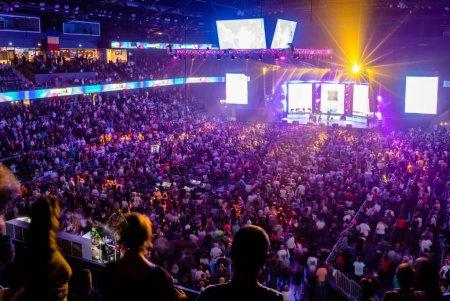 Orasul Cluj-Napoca este in scenariul galben, Sala Polivalenta a gazduit un concert cu mii de persoane. Ce spune prefectul