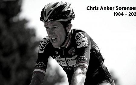 Fostul mare ciclist Chris Anker Sorensen a murit. A fost lovit de o <span style='background:#EDF514'>MASINA</span> cand se plimba cu bicicleta