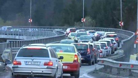 Infotrafic: Aglomeratie pe Valea Oltului, se circula ingreunat din cauza unor lucrari