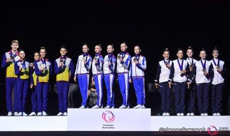 Gimnastica aerobica: Romania a cucerit patru medalii la Campionatele Europene de la Pesaro