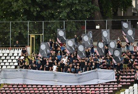 Fanii lui Dinamo n-au trecut peste umilinta cu FCSB! Scenografia afisata la meciul cu Botosani: