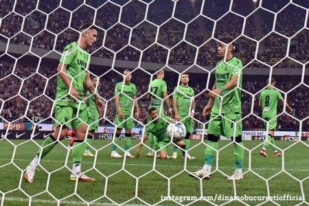 Dinamo - Botosani 1-2. Moldovenii ajunge pe <span style='background:#EDF514'>LOCUL</span> secund in clasament