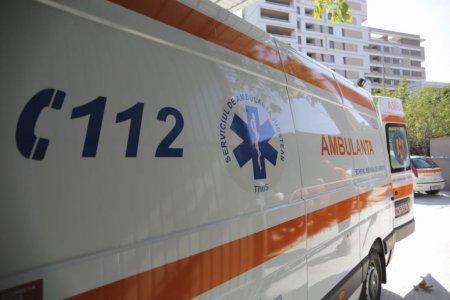 Un adolescent s-a electrocutat pe un vagon in gara Deva. A suferit arsuri pe 70% din corp