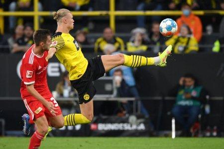 SUPERHAALAND » Dubla a norvegianului in <span style='background:#EDF514'>BUNDESLIGA</span>, intr-un meci cu 6 goluri: Magic!