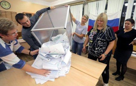Primele rezultate ale alegerilor legislative din Rusia: Partidul lui Putin conduce detasat