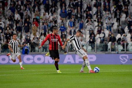 Juventus ramane fara <span style='background:#EDF514'>VICTORIE</span> in Serie A dupa derby-ul cu Milan