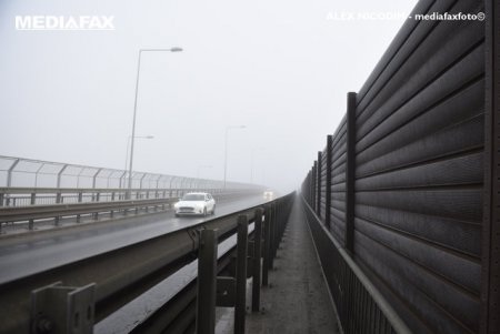 METEO Cod galben de ceata, luni dimineata, in trei judete din Transilvania