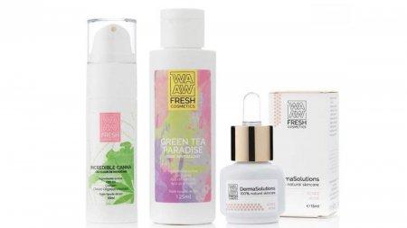 Wawa Cosmetics, cosmetice <span style='background:#EDF514'>REVOLUTION</span>are, indragite de femei