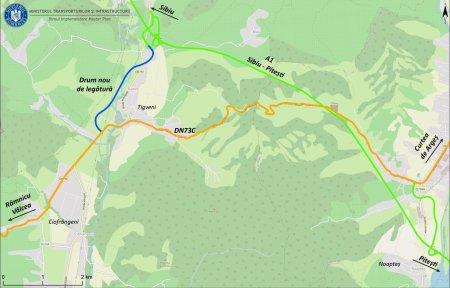 CNAIR a prelungit pana la 30 septembrie termenul de depunere a ofertelor pentru sectiunea 2 din autostrada Sibiu-Pitesti