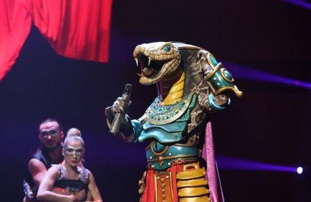 Cine este Șarpele de la Masked Singer Romania sezonul 2: Sunt sexy si charismatic