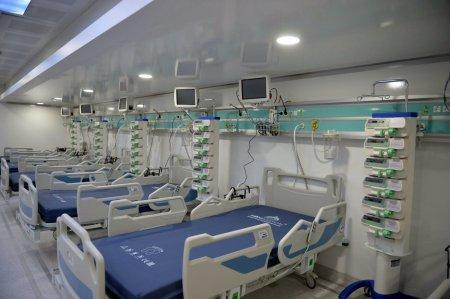 Cate paturi libere de ATI pentru pacientii Covid mai sunt disponibile la nivel national