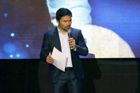 Boxerul Manny Pacquiao candideaza la presedintie in Filipine: