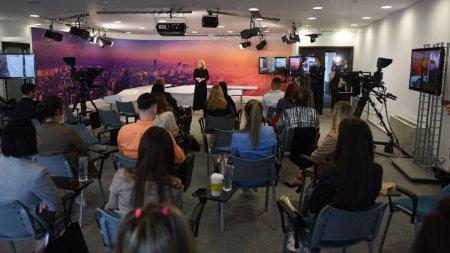 Intact Media Academy a inceput cursurile celei de-a XXII-a serii de viitori jurnalisti de televiziune