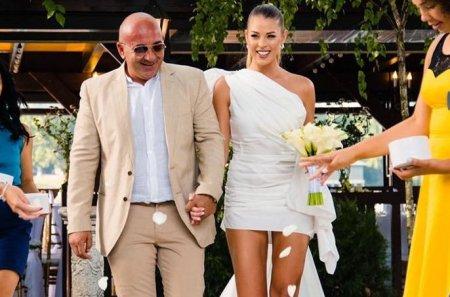 Roxana Nemes, primele declaratii dupa nunta cu Calin Hagima. Am avut si o slujba de cununie